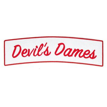 Devil's Dames Large Back Patch