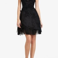 BCBGMAXAZRIA - CECILE SHORT COCKTAIL DRESS $398.00
