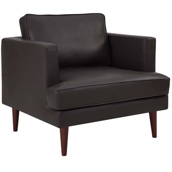 Agile Genuine Leather Armchair