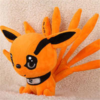 "[PCMOS] 2016 New Anime Naruto Uzumaki Kyuubi Kurama Nine-Tales Fox Demon 10"" Plush Stuffed Doll Free Shipping 16072104"