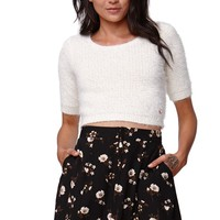 Kendall & Kylie High Rise A-Line Skirt - Womens Skirt - Black
