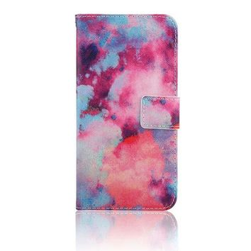 Fade Flip Wallet iPhone 7 Cases 5S,SE, 6,6s,7,7+