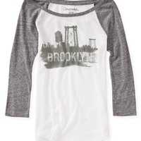 3/4 Sleeve Brooklyn Tee