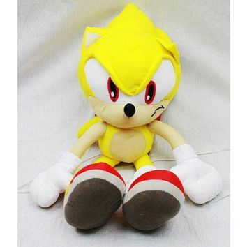 Sonic the Hedgehog Doll Plush Backpack - Tails (20 Inch)