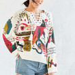 Ecote Circus Dreams Lace-Up Pullover Sweater - Urban Outfitters