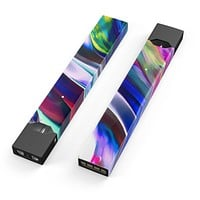 Skin Decal Kit for the Pax JUUL - Blurred Abstract Flow V42