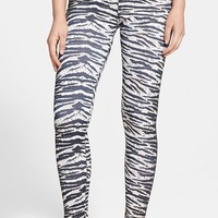 Junior Women's Volcom 'Concrete Jungle' Print Surf Leggings