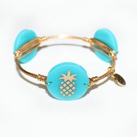 Moon & Lola xx Bourbon & Boweties Pineapple Bangle