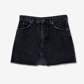 Cut-out denim mini skirt - Skirts - Clothing - Woman - PULL&BEAR United Kingdom