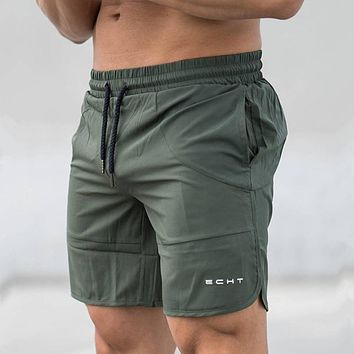Men Gyms Fitness Shorts Summer Casual Fashion Cool Short Pants Male Jogger Bodybuilding Workout Man crossfit Brand Sweatpants