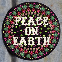 Holiday  Car  Magnets:  Peace  On  Earth  Holiday  Car  Magnet  From  Natural  Life