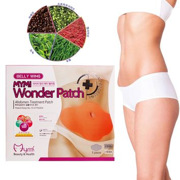 20pcs/4boxes MYMI Wonder Slimming Patch Belly Abdomen Weight Loss Fat burning Slim Patch Cream Navel Stick Efficacy Strong