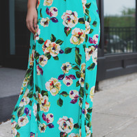 Green Thumb Maxi Skirt