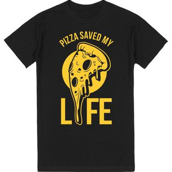 Pizza Saved My Life | T-Shirt | SKREENED