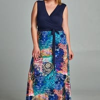 Splash - MMB Famous Maxi Dress - Limited Edition