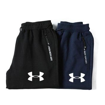 MDIGON1O UNDER ARMOUR Women Men Lover Casual Pants Trousers Sweatpants Day First