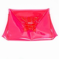 MAME PLASTIC ENVELOPE CLUTCH - WOMEN - MAME - OPENING CEREMONY
