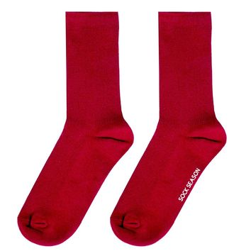 Essential Star Quality Sock | Red