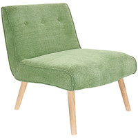 Vintage Neo Accent Chair, Green