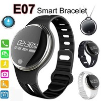 IP67 Waterproof Smart Watch E07 Smartband Touch Screen Smart Bracelet for Android 4.3 IOS 7.0 Wearable Sports Wristband Fitness Tracker