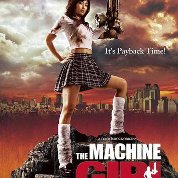 The Machine Girl 11x17 Movie Poster (2008)