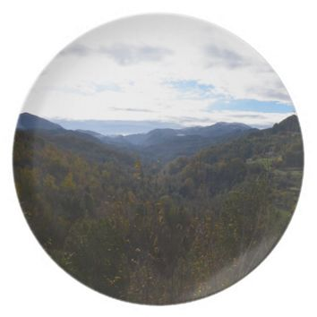 Valley In Calabria Plate