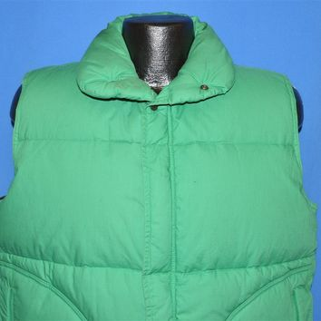 80s Pacific Trail Sportswear Down Filled Puffy Ski Vest Medium