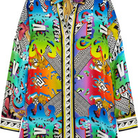 Versus - Printed silk shirt