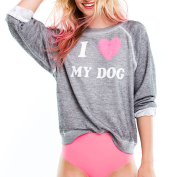 Dog Mom Sommers Sweater - Wildfox