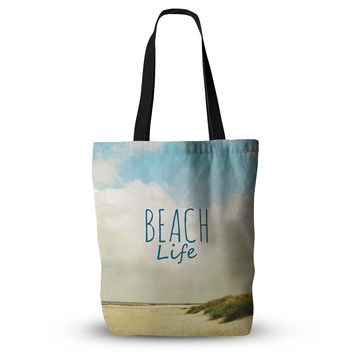 "Iris Lehnhardt ""Beach Life"" Beach Blue Everything Tote Bag"