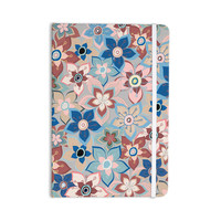 "Jolene Heckman ""Marsala Floral Mix"" Pink Blue Everything Notebook"