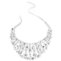Silver Regal Necklace Set