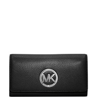 Michael Michael Kors Fulton Carryall Leather Wallet