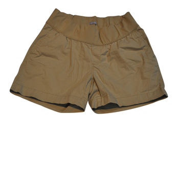 Khaki Low Waist Shorts by GAP