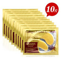 [40pcs] Natural crystal collagen gold powder eye mask,Anti-Aging Face care Skin care Eye patches N009