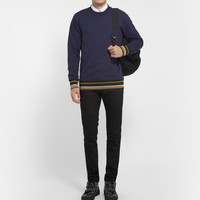 Raf Simons - Sterling Ruby Fleece-Back Cotton-Jersey Sweatshirt | MR PORTER