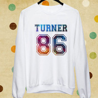 Turner 86 Galaxy Version sweater,sweatshirt,heppy ending in S-3XL.