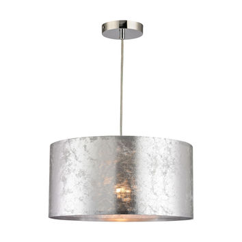 Boulevard 1 Light Pendant In Silver Silver