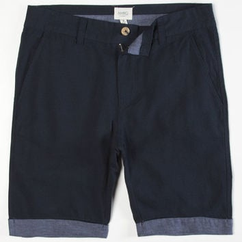 Ambig Cayacos Mens Shorts Navy  In Sizes