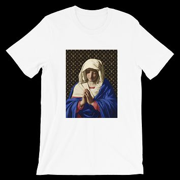 "Limited ""LV x MADONNA"" Praying Hands Concept Tee Shirt"