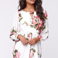 Reverse Juliette Romper - Womens Dress - Floral -