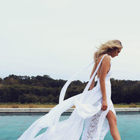 Summer Chiffon Boho Wedding Dresses