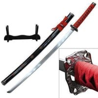 40in Samurai Katana with stand SW72RD