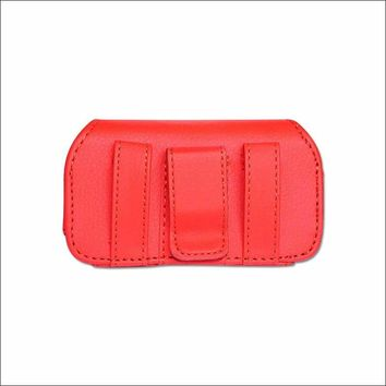 HORIZONTAL POUCH HP11A MOTOROLA V3 RED 4X0.5X2.1 INCHES: Case Of 120