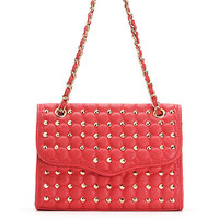 Spike Quilted Chain Shoulder Bag | Sexy Clothes Womens Sexy Dresses Sexy Clubwear Sexy Swimwear | Flirt Catalog