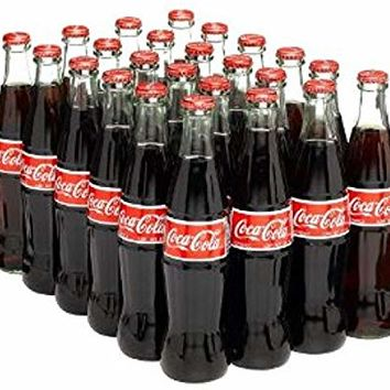 Mexican Coca Cola, Drink Cola, 12 Ounce (24 Pack)