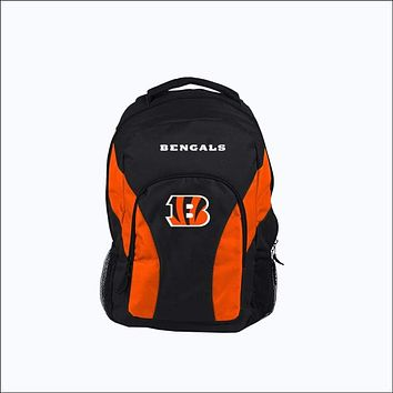 """Bengals OFFICIAL National Football League, """"""""Draft Day"""""""" 18""""""""H x 10"""""""" (12"""""""" Back) Backpack  by The Northwest Company"""