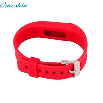 OMESHIN SimpleStone  New Replacement Wrist Band With Metal Buckle For Fitbit Flex Bracelet Wristband June17
