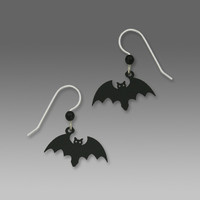 Sienna Sky Earrings - Halloween Bat