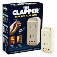 The Clapper Sound Activated On/Off Switch, 1 Each:Amazon:Health & Personal Care